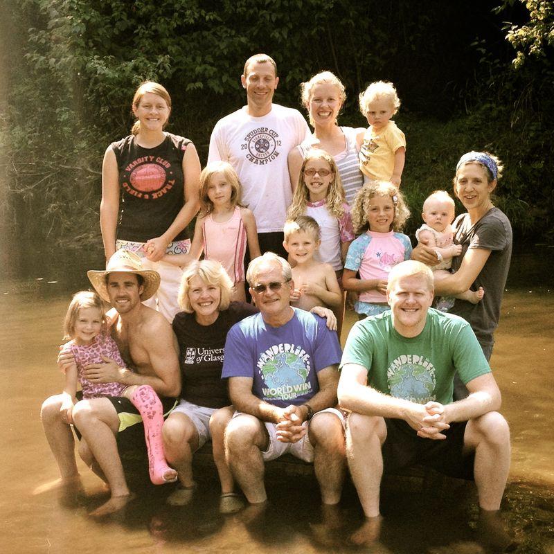 Family Farmin' Summer 2012